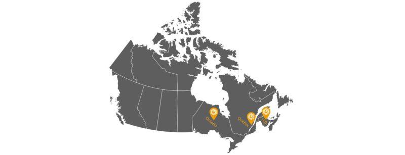 Techno-Led Carte Canada