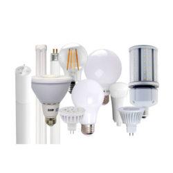 Ampoule et tube au DEL