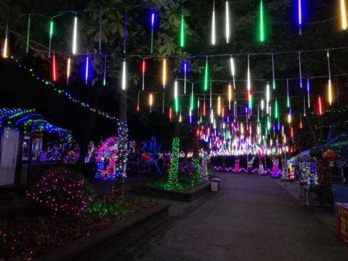 Lumières de Noel commerciale Glaçons