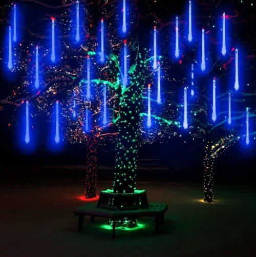 Lumières de Noël commerciales